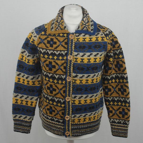 9P Assorted Pattern Fairisle Waistcoat 561a Assorted