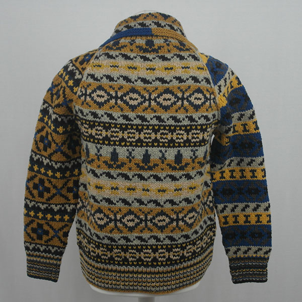 9P Assorted Pattern Fairisle Waistcoat 561b Assorted