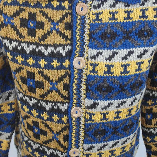 9P Assorted Pattern Fairisle Waistcoat 561c Assorted
