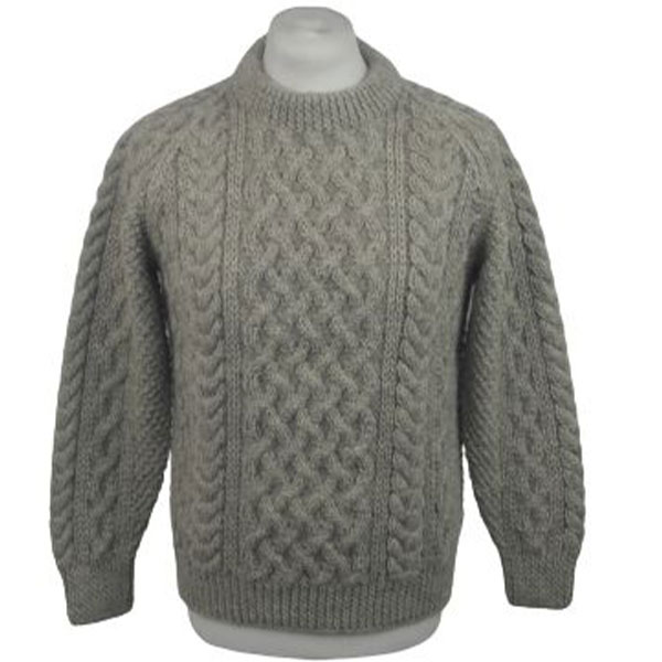 1A Country Meetings Crew Neck Sweater 615a Oatmeal Front