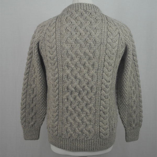 1A Country Meetings Crew Neck Sweater 615b Oatmeal Back