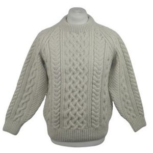 1A Country Meetings Crew Neck Sweater 618a Snowdrop Front